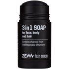 Zew For Men prírodné tuhé mydlo na tvár, telo a vlasy 3v1