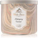 Bath & Body Works White Barn Mahogany Coconut vonná svíčka   I.