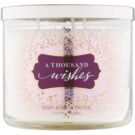 Bath & Body Works A Thousand Wishes vonná svíčka