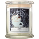 Kringle Candle Cashmere & Cocoa vonná svíčka
