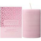 Luminum Candle Premium Aromatic Cherry vonná svíčka   zdobená střední (Ø 60 - 80 mm, 32 h)