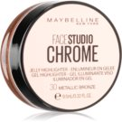 Maybelline Face Studio Chrome Jelly Highlighter gelový rozjasňovač