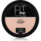 Maybelline Fit Me! Matte+Poreless matující pudr