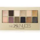 Maybelline The 24K Nudes paleta očních stínů