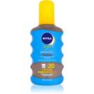 Nivea Sun Protect & Bronze suchý olej na opalování SPF 20