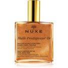 Nuxe Huile Prodigieuse Or multifunkční suchý olej se třpytkami na obličej, tělo a vlasy