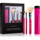 Sigma Beauty Essential Trio Brush Set sada štětců s pouzdrem