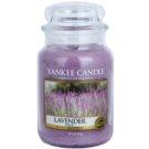 Yankee Candle Lavender vonná svíčka  Classic velká