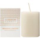 Luminum Candle Premium Aromatic Sandalwood świeczka zapachowa  średnia (Ø 60 - 80 mm, 32 h)