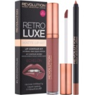 Makeup Revolution Retro Luxe zestaw matujący do ust