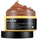 Mizon Enjoy Fresh-On Time maska rozjaśniająco-nawilżająca z miodem do skóry suchej