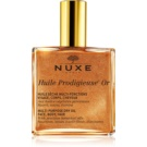 Nuxe Huile Prodigieuse Or multifunkcyjny suchy olejek z brokatem do twarzy, ciała i włosów