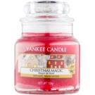 Yankee Candle Christmas Magic świeczka zapachowa  Classic mała