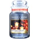 Yankee Candle Autumn Night świeczka zapachowa  Classic duża