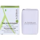 A-Derma Original Care dermatologická mycí kostka pro citlivou a podrážděnou pokožku 100 g