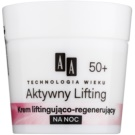 AA Cosmetics Age Technology Active Lifting Festigende regenerierende Nachtcreme 50+  50 ml