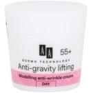 AA Cosmetics Dermo Technology Anti-Gravity Lifting Anti-Wrinkle Modelling Cream 55+  50 ml