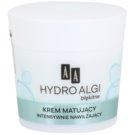 AA Cosmetics Hydro Algae Blue матиращ крем с хидратиращ ефект (24H Hydro-Derm) 50 мл.