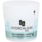 AA Cosmetics Hydro Algae Blue hydratisierende und nährende Creme  50 ml