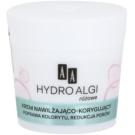 AA Cosmetics Hydro Algae Pink хидратиращ крем  за изглаждане на кожата и минимизиране на порите (24H Hydro-Derm) 50 мл.