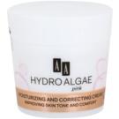 AA Cosmetics Hydro Algae Pink Crema matifianta cu efect de hidratare (24H Hydro-Derm) 50 ml
