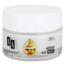 AA Cosmetics Oil Infusion2 Argan Marula 30+ creme de noite nutritivo com efeito antirrugas Koenzym Q10(Light Formula, Double Infusion) 50 ml