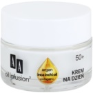AA Cosmetics Oil Infusion2 Argan Inca Inchi 50+ denný liftingový krém proti vráskam UVA/UVB(Collagen+, Light Formula, Double Infusion) 50 ml