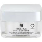 AA Prestige Lumi Supreme creme suavizante ativo para unificar o tom de pele SPF 15 50 ml