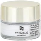 AA Prestige Pro-Smooth éjszakai bőrnyugtató krém hidratáló hatással  50 ml