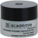 Academie All Skin Types vyhlazující oční gel proti otokům 15 ml