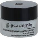 Academie All Skin Types Smoothing Eye Gel To Treat Swelling 15 ml