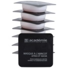 Academie Normal to Combination Skin masca revigoranta cu caise  8 x 10 ml