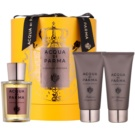 Acqua di Parma Colonia Intensa Gift Set II.  Cologne 100 ml + Aftershave Balm 75 ml + Shower Gel 75 ml