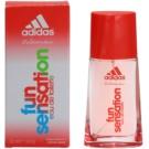 Adidas Fun Sensation eau de toilette nőknek 30 ml