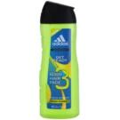 Adidas Get Ready! sprchový gel pro muže 400 ml 3v1