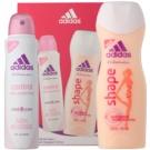 Adidas Control  Cool & Care darilni set I. dezodorant v pršilu 150 ml + gel za prhanje 250 ml