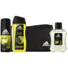 Adidas Pure Game подарунковий набір ІХ  Туалетна вода 100 ml + Гель для душу 250 ml + дезодорант 150 ml + Сумка