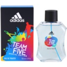 Adidas Team Five Eau de Toilette para homens 100 ml