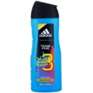Adidas Team Five gel de duche para homens 400 ml