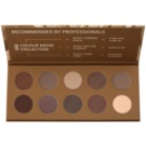 Affect Color Brow Colection Palette zum schminken der Augenbrauen (10 colors)