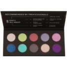 Affect Party All Night Eyeshadow Palette with 10 Shades
