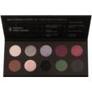 Affect Smoky and Shiny paleta de sombras de olhos - 10 cores