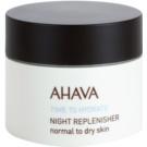 Ahava Time To Hydrate nočný regeneračný krém pre normálnu až suchú pleť (Paraben Free) 50 ml