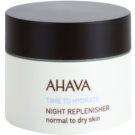 Ahava Time To Hydrate nočný regeneračný krém pre normálnu až suchú pleť  50 ml