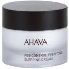 Ahava Time To Smooth rozjasňující noční krém proti prvním známkám stárnutí pleti (Paraben Free) 50 ml