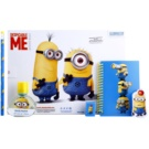 Air Val Minions Gift Set I.  Eau De Toilette 30 ml + Block  + Pencil  + gum  + sharpener