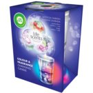 Air Wick Life Scents Color & Fragrance Changing vonná svíčka 140 g  (Mystical Garden)
