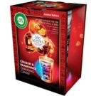 Air Wick Life Scents Color & Fragrance Changing świeczka zapachowa  140 g  (Mulled wine by the fire)