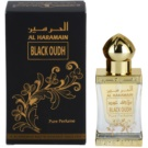 Al Haramain Black Oudh ulei parfumat unisex 12 ml