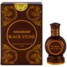 Al Haramain Black Stone aceite perfumado para hombre 15 ml